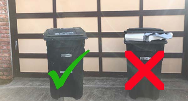 secure the lids of your garbage cans to prevent rodents and negate the need for rat poisons